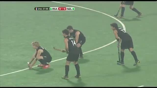 South Africa vs New Zealand - Men's Hero Hockey Junior World Cup India Pool D [09/12/2013]