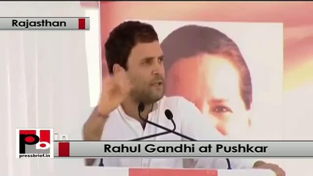 Rahul Gandhi: BJP divides the masses, we believe in brotherhood