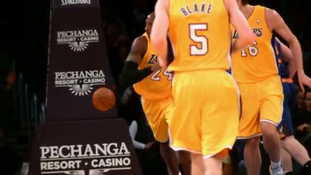 NBA: Kobe Bryant's First Dunk of the Season in Slow-Mo
