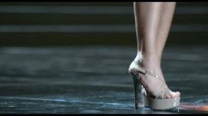 Miss Universe Contestants Rehearsing in Chinese Laundry Heels