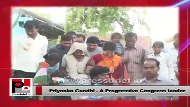 Priyanka Gandhi Vadra: A leader for the masses