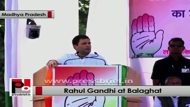 "Rahul Gandhi: It's government responsibility to break the ""wall of poverty"""