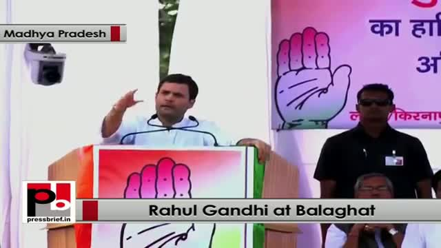 Rahul Gandhi: We want to empower the masses to fight corruption