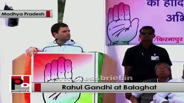 Rahul Gandhi in MP: Congress will form a government of tribal and poor