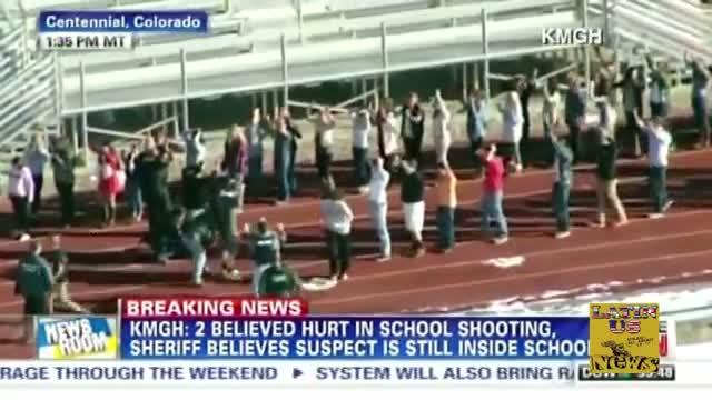 Arapahoe High school Shooting Centennial - Colorado School Shooting 12/13/2013