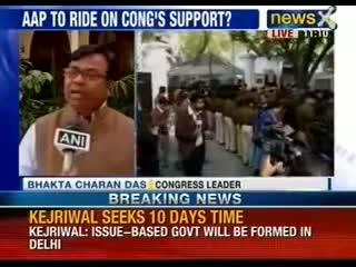 Arvind Kejriwal meets LG, seeks 10 days time to decide on government formation