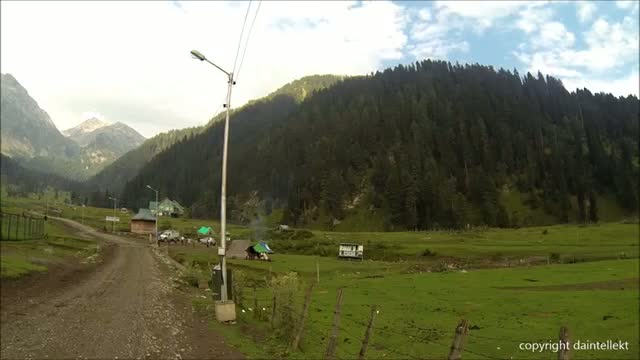 Beautiful Aru Valley Pahalgam Kashmir India 2013  Jab Tak Hai Jaan Movie Location
