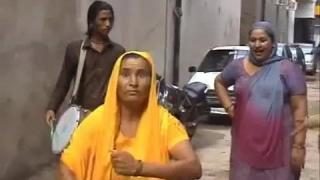 Indian Aunty Funny Aggressive Dance On Dhol In Street