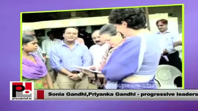 Sonia Gandhi, Priyanka Gandhi Vadra : The two progressive leaders of India