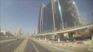 Dubai Big Bus City Tour Sheikh Zayed Palm Jumeirah Drive 2013 Full HD