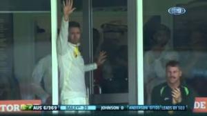 Bailey's massive Anderson over - Ashes 2013 - 3rd Test Perth