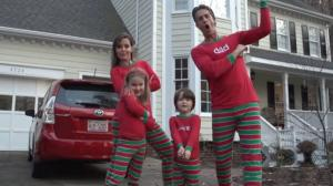 Awesome Family Christmas Video - XMAS JAMMIES - Merry Christmas from the Holderness Family!