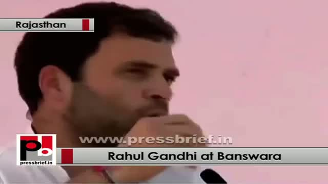 Rahul Gandhi: Congress wants to give more support to tribal, dalit and poor
