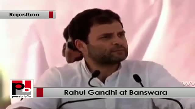 Rahul Gandhi: Development and Upliftment of poor both are necessary