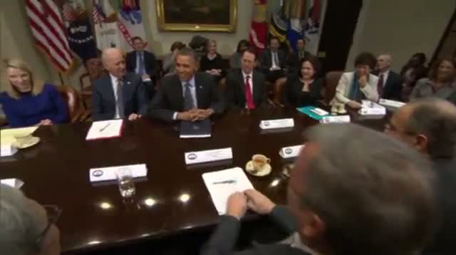 Obama Meets With Tech CEOs Amid NSA Concern
