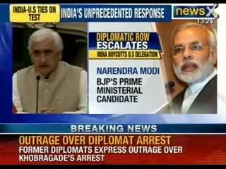 Indian diplomat Devyani Khobragade was strip searc    (video id -  341d919e7a34)