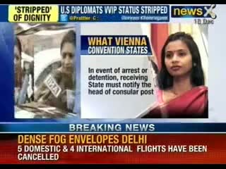 Devyani Khobragade: India Retaliates. Barriers removed from US Embassy. Other restrictions soon
