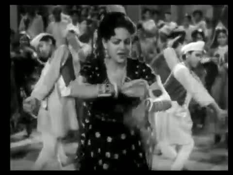 Gore Gore Mukhade Pe Gesu Jo Chaa Gaye - Hit Classic Fun Hindi Song - Patanga (Old is Gold)