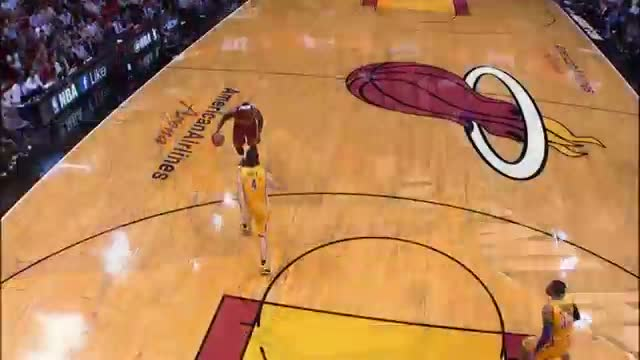 NBA: LeBron Flushes It Down, And-One
