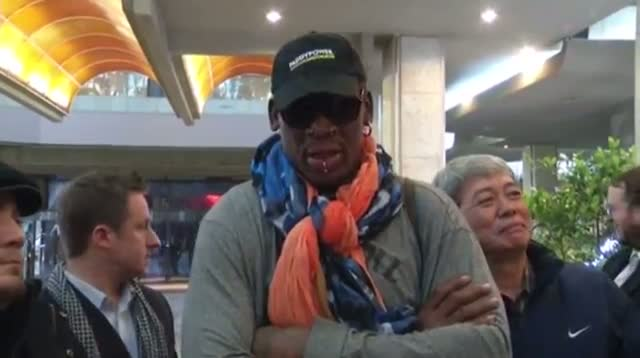 Rodman in North Korea 'to See My Friend'