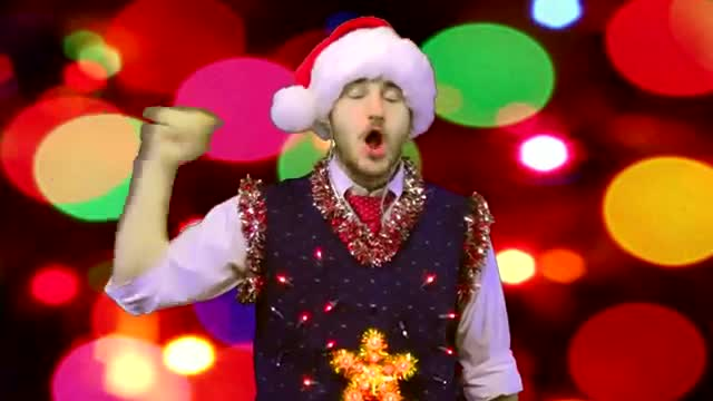Funny Speech Jammer Christmas Carols - Wish All A Very Happy Prosperous Christmas