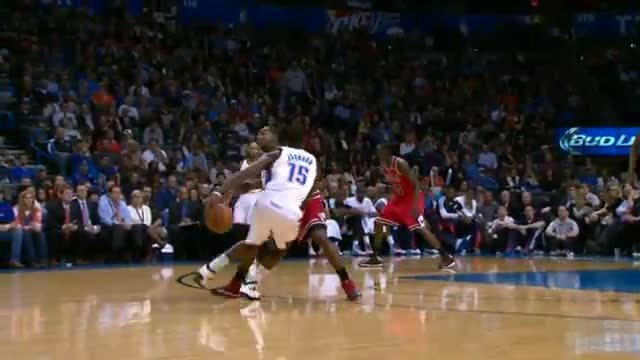 NBA: Reggie Jackson Dances into the Lane with his Behind the Back Handles