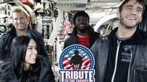 WWE Superstars board the USS Alabama Submarine: 2013 Tribute the Troops