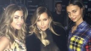 Kim Kardashian's Sheer Outfit