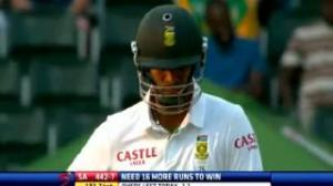 India vs South Africa 2013 - 22 December Day 5 - Last 5 Overs Highlights - IND vs SA Test Match