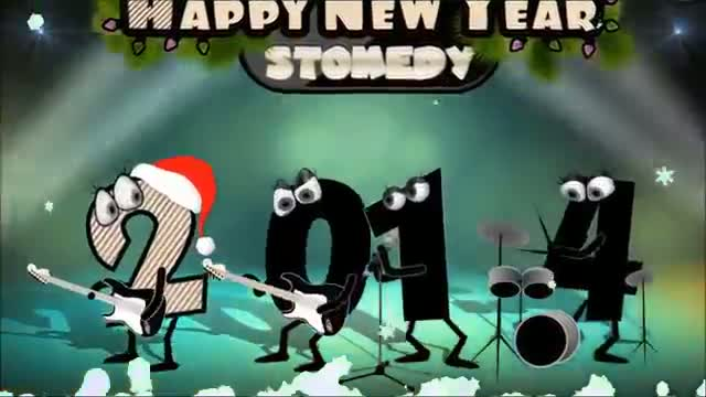 Merry Christmas &Happy New Year - Christmas Song 2013