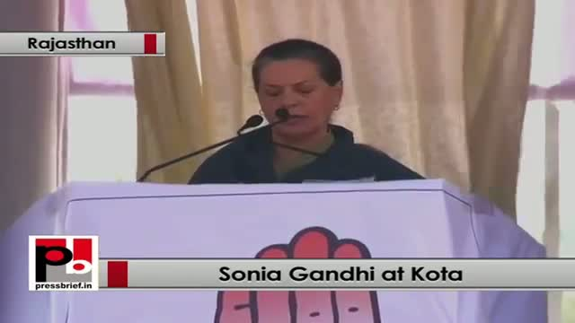 Sonia Gandhi: UPA has given the RTE to every child till the age of 14