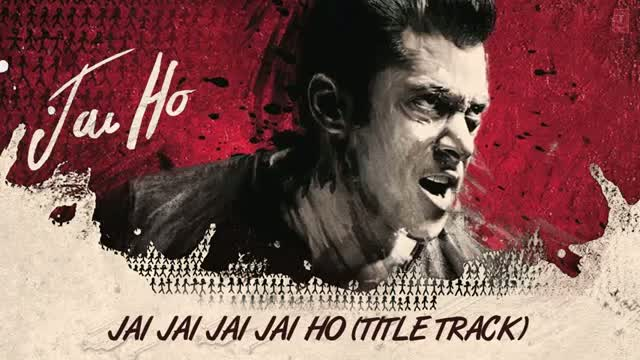 Jai Jai Jai Jai Ho Title Song (Full Audio) - Salman Khan, Tabu