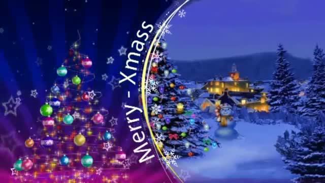 Animation Merry Christmas 2013 - 25 December 2013 - Happy 2013 Xmas