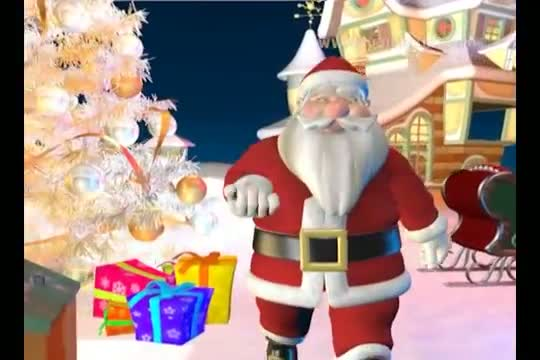 Merry Christmas 2013 Animation - Jingle Bell Jingle Bell Jingle All The Way !!