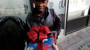 Christmas Gifts For The Homeless - Filmed with Google Glass