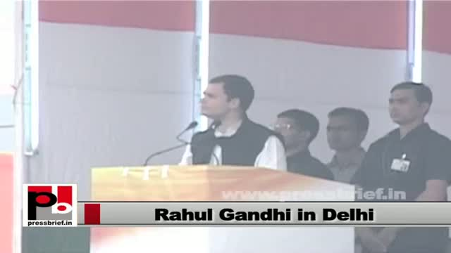 Rahul Gandhi: Land Acquisition Bill will provide benefit to poor and tribal
