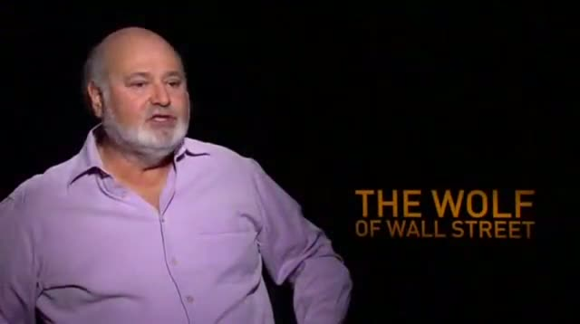 Rob Reiner on 'The Wolf of Wall Street'