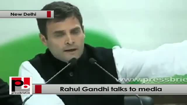 Rahul Gandhi: Let's stop talking and do the needful to stop the corruption