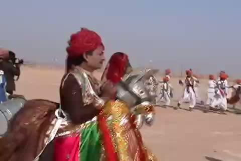 Dummy Horse Dance, Kachchi Ghodi-Louise and Stuart's Amazing India