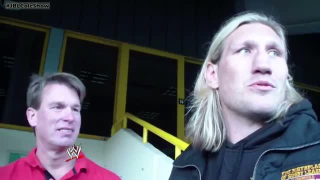 WWE - Who gave Cole a black eye? - The JBL & Cole Show - Ep. #57