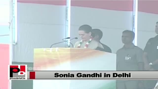 Sonia Gandhi: Few people are playing with Indian Constitution