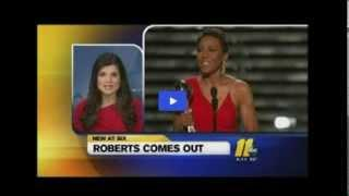 Robin Roberts publicly acknowledges she's gay  - ROBIN ROBERTS COMES OUT AS GAY! - Full Story