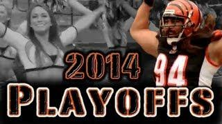 NFL Bengals 2014 Playoffs with Surreal