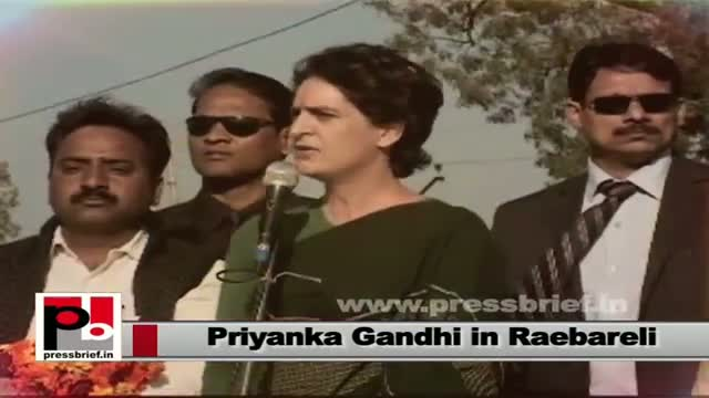 Priyanka Gandhi: It's in people hand to bring the change