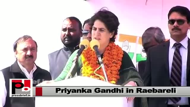 Priyanka Gandhi: You have seen SP, what have you got in return