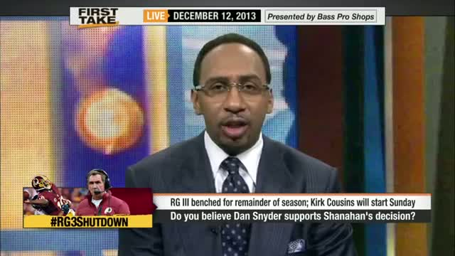Mike Shanahan Is Deflecting All Blame On RG3 - ESPN First Take