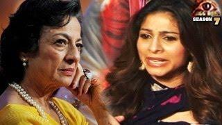 Tanuja BEHAVES BADLY with Armaan Kohli at Bigg Boss 7 Grand FINALE