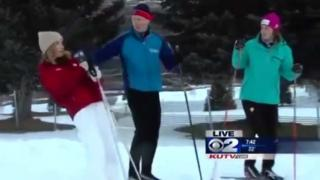 Reporter Passes Out On Live TV