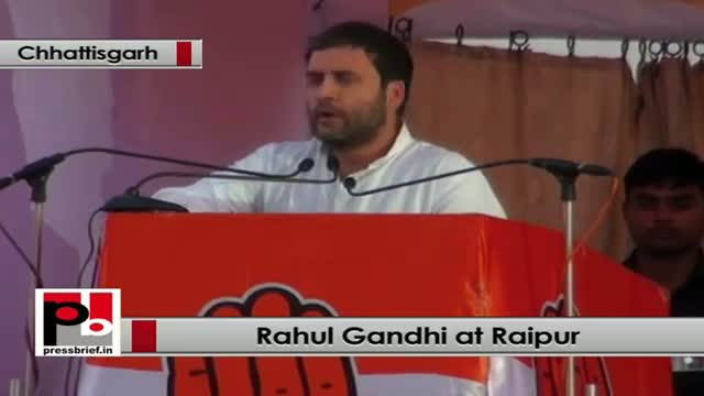 Rahul Gandhi: There is more violence in Chhattisgarh than Jammu and Kashmir