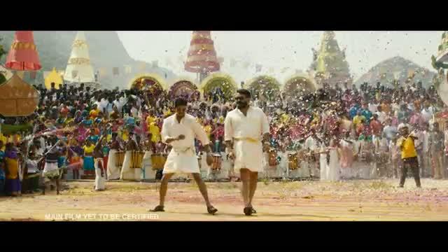 Jilla Official (Tamil Teaser) - Ilayathalapathy Vijay, Mohanlal